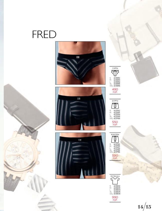 Florange (Флоранж) Слипы, шорты, боксеры и футболка Fred