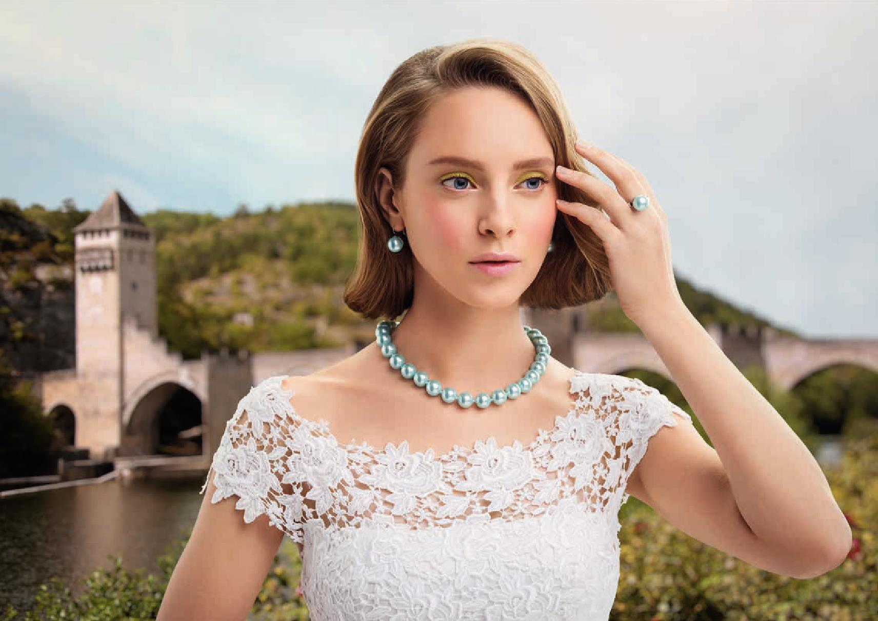 Флоранж Ожерелье, серьги, кольцо La tendresse Нежность