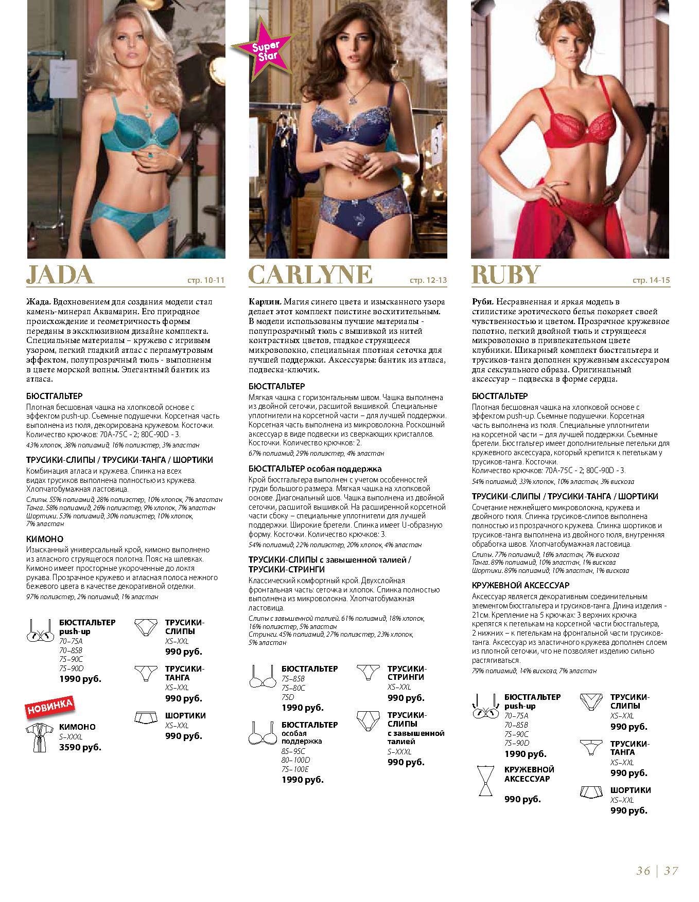 Описание комплектов каталога стр. 10-15