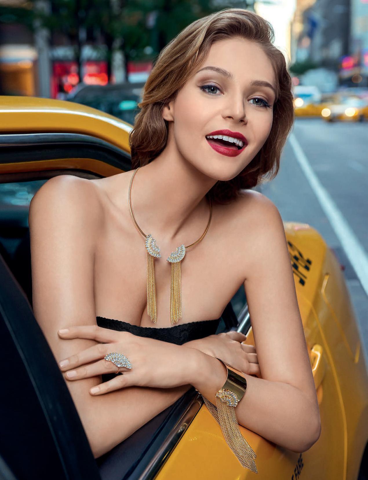 """Бижутерия Флоранж - Колье, браслет и кольцо """"Бродвей"""""""