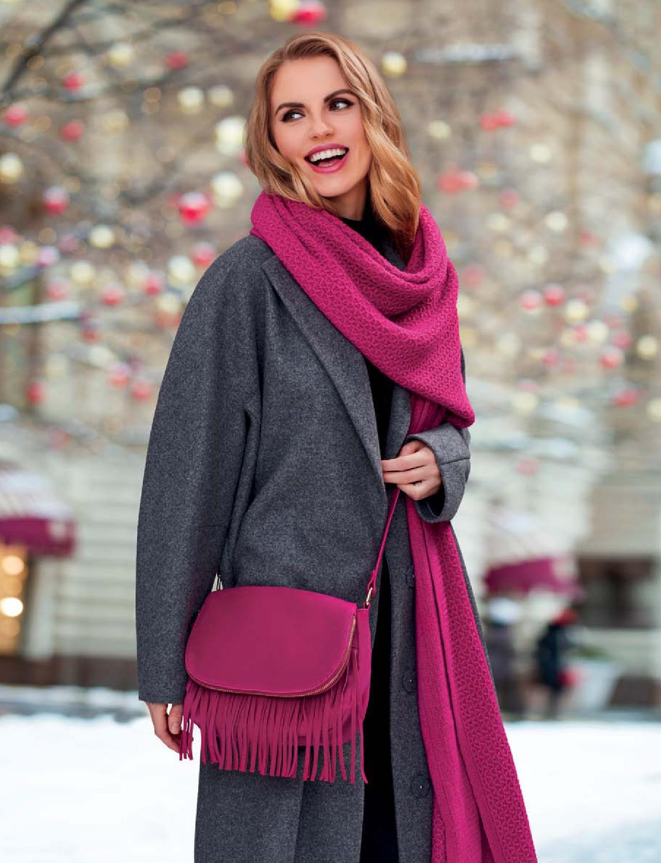 Флоранж Стайл - Мирабель - сумка и шарф