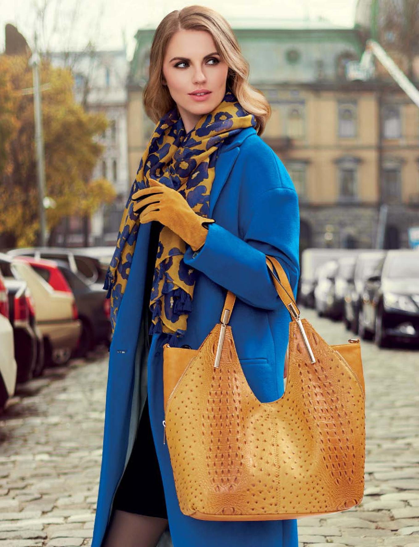 Флоранж Стайл - сумка и перчатки Эбби, и шарф Юнона
