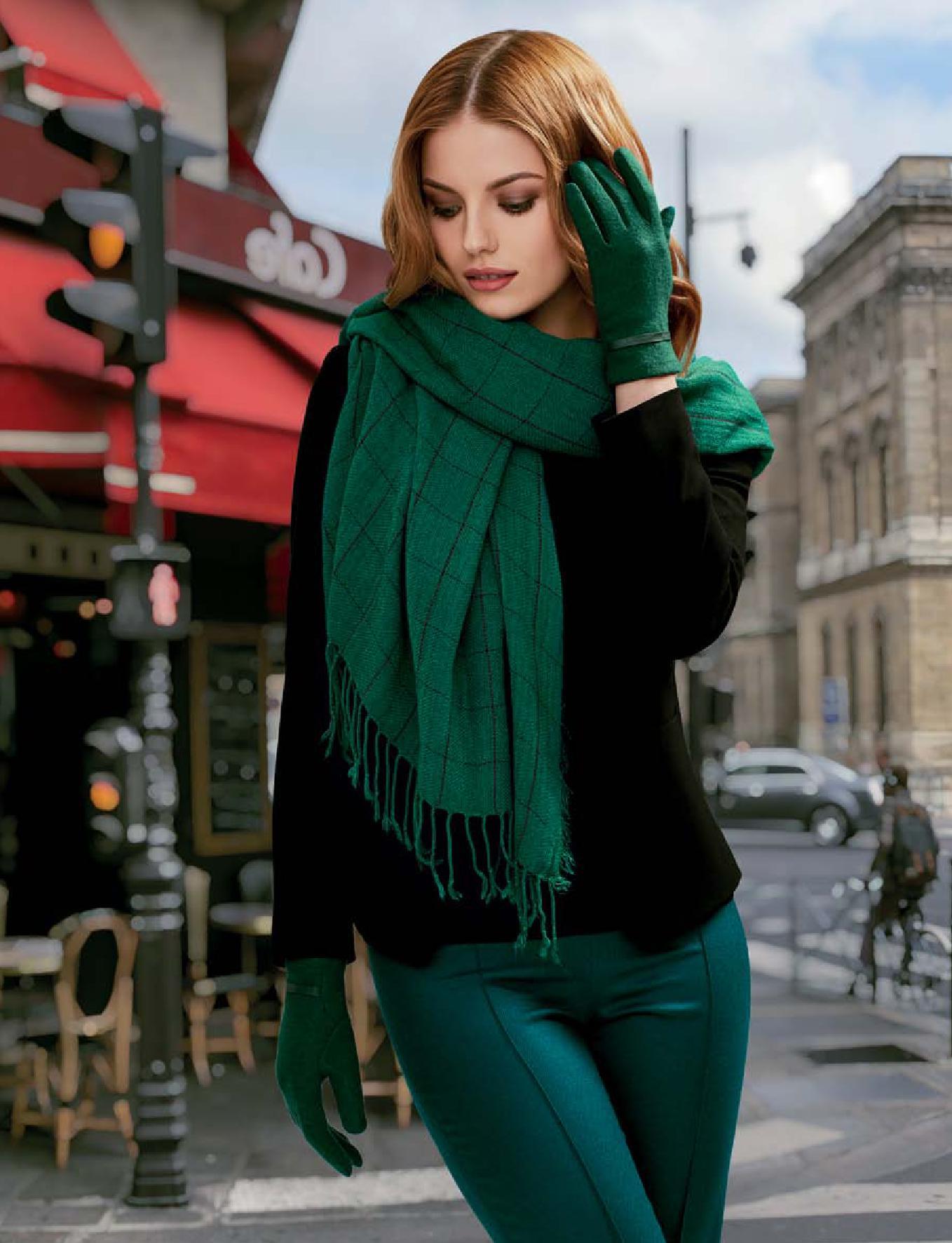Флоранж Стайл - шарф и перчатки Жаклин